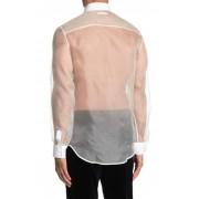 Helmut Lang Sheer Tux Shirt IV