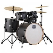 "Mapex ""Storm 22"""" Deep Black Drum-Set"""