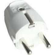Szerelhető csatlakozó dugó, egyenes csatlakozással - 1xSHUKO, 250V, max.10/16A TCSD - Tracon