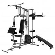 vidaXL Aparelho de Musculação Multi-Funcional para Ginásio Particular