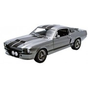 Greenlight Collectibles - 12909 - Véhicule Miniature - Modèles À L'échelle - Ford Mustang Shelby - Gt 500 Custom - Eleanor - Echelle 1/18-Greenlight