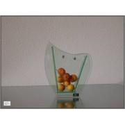 Glass vase 16,6x19,5