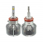 2 Pcs H8/h11 25w Philips Mz 3000lm 6000k Blanco Light Car Led Head Lamp With Driver, Dc 11-30v