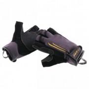 Camp - Start Rappel Glove Fingerless - Gant de via ferrata taille L, noir/gris