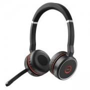 Слушалки с микрофон Jabra Evolve 75 UC Stereo, черни, JABRA-98510000