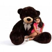 Teddy Bear 5 Feet Teddy Bear with Neck Bow - Chocolate(151cm)