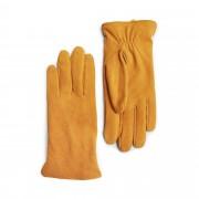 Handskmakaren Faenza handskar i mocka, dam, Gul, 7