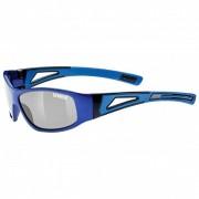 Uvex Kid`s Sportstyle 509 Litemirror Silver S3 Occhiali da sole blu/grigio