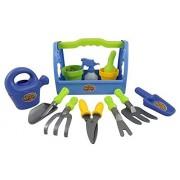 Sj Little Garden Tool Box 14pc Toy Gardening Tools Set For Kids Liberty Imports