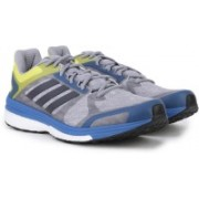 Adidas SUPERNOVA SEQUENCE 9 M Running Shoes For Men(Blue, Grey, Yellow)