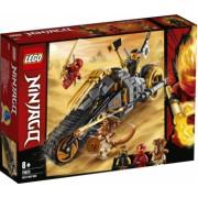 LEGO Ninjago Motocicleta de teren a lui Cole 70672