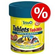 Tijdelijk extra voordelig! 120 stuks Tetra Tablets TabiMin Voertabletten - 120 Tabletten