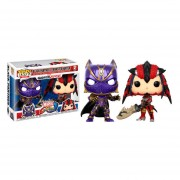 Funko Pop Black Panther Vs Monster Hunter Marvel Vs Capcom 2 Pack