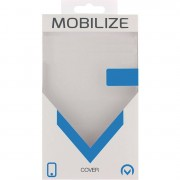 Mobilize Smartphone Robuuste Siliconen Case Apple iPhone 7 / Apple iPhone 8 Zwart