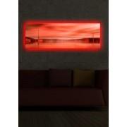 Tablou pe panza iluminat Shining, 239SHN1270, 30 x 90 cm, panza