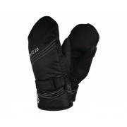 Girls' Stormy Waterproof Insulated Ski Mitts Black
