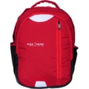 Mee Trend High Quality Tough Polyster 34L Casual School/college/Laptop 34 L Backpack(Red, Black, White)