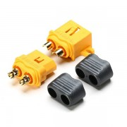 Amass Fixed XT60-L Plug Connector With Sheath Housing Male & Female 1 Pair