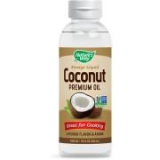 Natures way Vloeibare premium kokosolie (296 ml) - Nature's Way