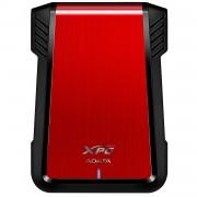 "Rack extern A-Data AEX500U3-CRD pentru HDD/ SSD 2.5"", USB 3.1 - Red"