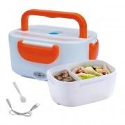 Elektromos Lunch box Termos 1,05 l Narancssárga