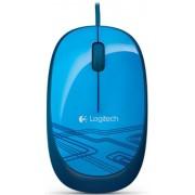 Mouse Logitech Wired Optic M105 (Albastru)