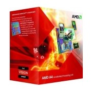 Procesador AMD A4-6300, S-FM2, 3.70GHz (hasta 3.9GHz c/ Turbo Boost), Dual-Core, 1MB L2 Cache
