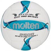 molten Beach-Volleyball BV2500-FBO (weiß/blau/silber) - 5