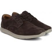Clarks UnLomac Edge Brown Nubuck Casual Shoes For Men(Brown)