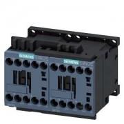 Forgásirányváltó mágneskapcsoló, 3Kw/7A (400V, AC3), 230V AC 50/60 Hz vezerlés, csavaros csatlakozás, S00 méret, Sirius (Siemens 3RA2315-8XB30-1AP0)