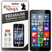 Real Ninja Tempered Glass Screen Protector for Microsoft Lumia 640 XL