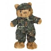 Obleček pro malého plyšového medvídka - flecktarn