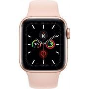 Apple Wie neu: Apple Watch Series 5 40 mm Aluminium GPS gold Sportarmband rosa
