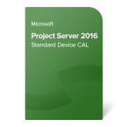 Microsoft Project Server 2016 Standard Device CAL OLP NL, H21-03451 elektronički certifikat
