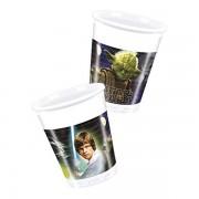 Star Wars Heroes műanyag pohár, 8 db/cs