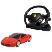 Rastar Radiostyrd Bil Röd Ferrari 458 Italia 1:14 - 40 Mhz