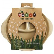 Munch Eco Hero Section Plates Perfect For Separating Healthy Food For Kids The Perfect Eco Friendly Bpa Free Meal Plate