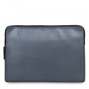 Knomo Laptophoes Knomo Laptop Sleeve Embossed Silver 15 inch