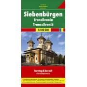 Wegenkaart - landkaart Transsylvanië, Siebenbuergen Transylvania | Freytag & Berndt