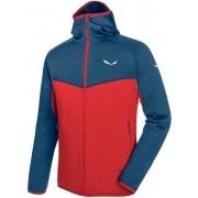 Salewa Puez 3 - giacca in pile trekking - uomo - Red/Blue
