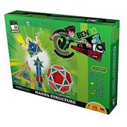 Toyzone Ben 10 Magna Structure Multi Color (220 Pieces)