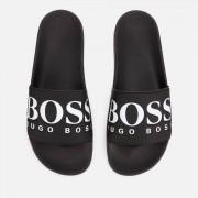 BOSS Men's Solar Slide Sandals - Black - UK 7