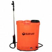 Pompa stropit electrica Elefant 18 Litri 6 Bar + regulator presiune vermorel cu baterie acumulator 8AH