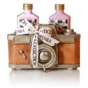 Lady Cotton Set de produse cosmetice pentru corp Strawberry Camera (Bath Set Camera)