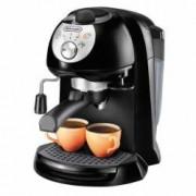 Espressor manual DeLonghi EC201.CD Cappuccino System 15 Bar 1 l Oprire automata Negru