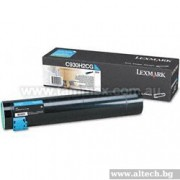 LEXMARK Cartridge for C935, cyan - 24000k (C930H2CG)