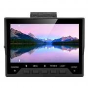 Moniteur test CCTV 4.3 pouces - Résolution 480x272 / PAL-NTSC / Sortie 12V 0.5A / Dragonne / Batterie 2600mA
