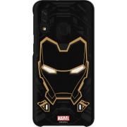 Samsung Handytasche »Galaxy Friends Cover Marvel Iron Man A40«, Schwarz