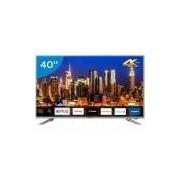 Smart TV 4K LED 40 Philco PTV40G50SNS - Wi-Fi Conversor Digital 3 HDMI 2USB