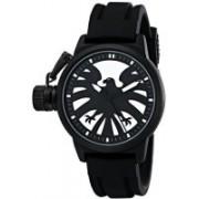 Marvel white4701 Marvel Men's W001757 The Avengers Captain America Analog-Quartz Black Watch Watch - For Men